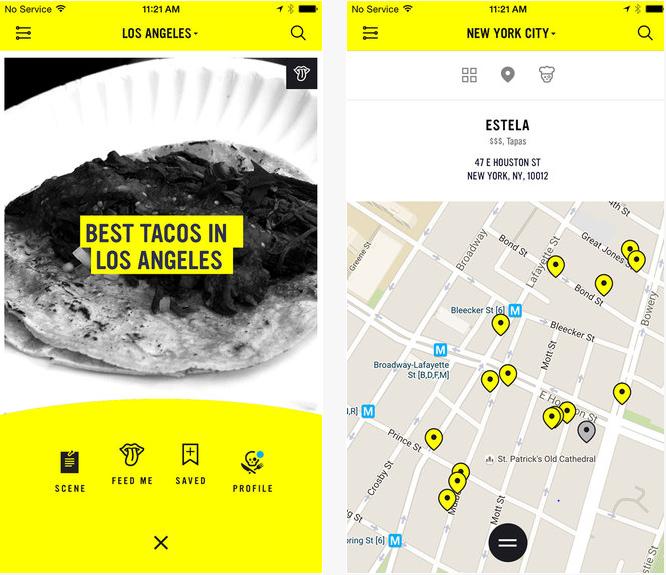 Best foodie apps ChefsFeed-Screenshot