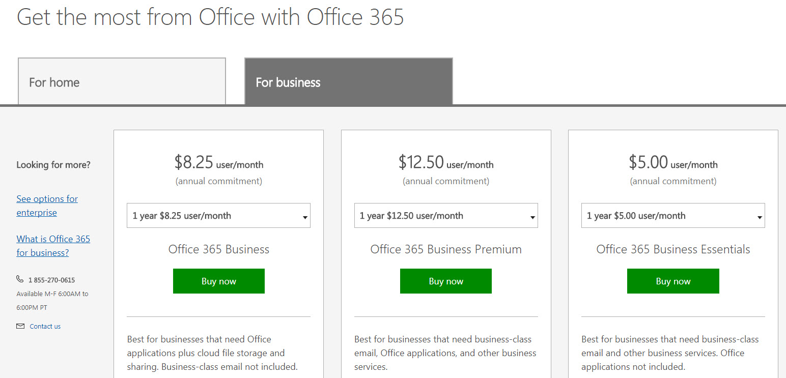 Microsoft Office for companies