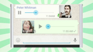 WhatsApp Improves its Voice Message Feature