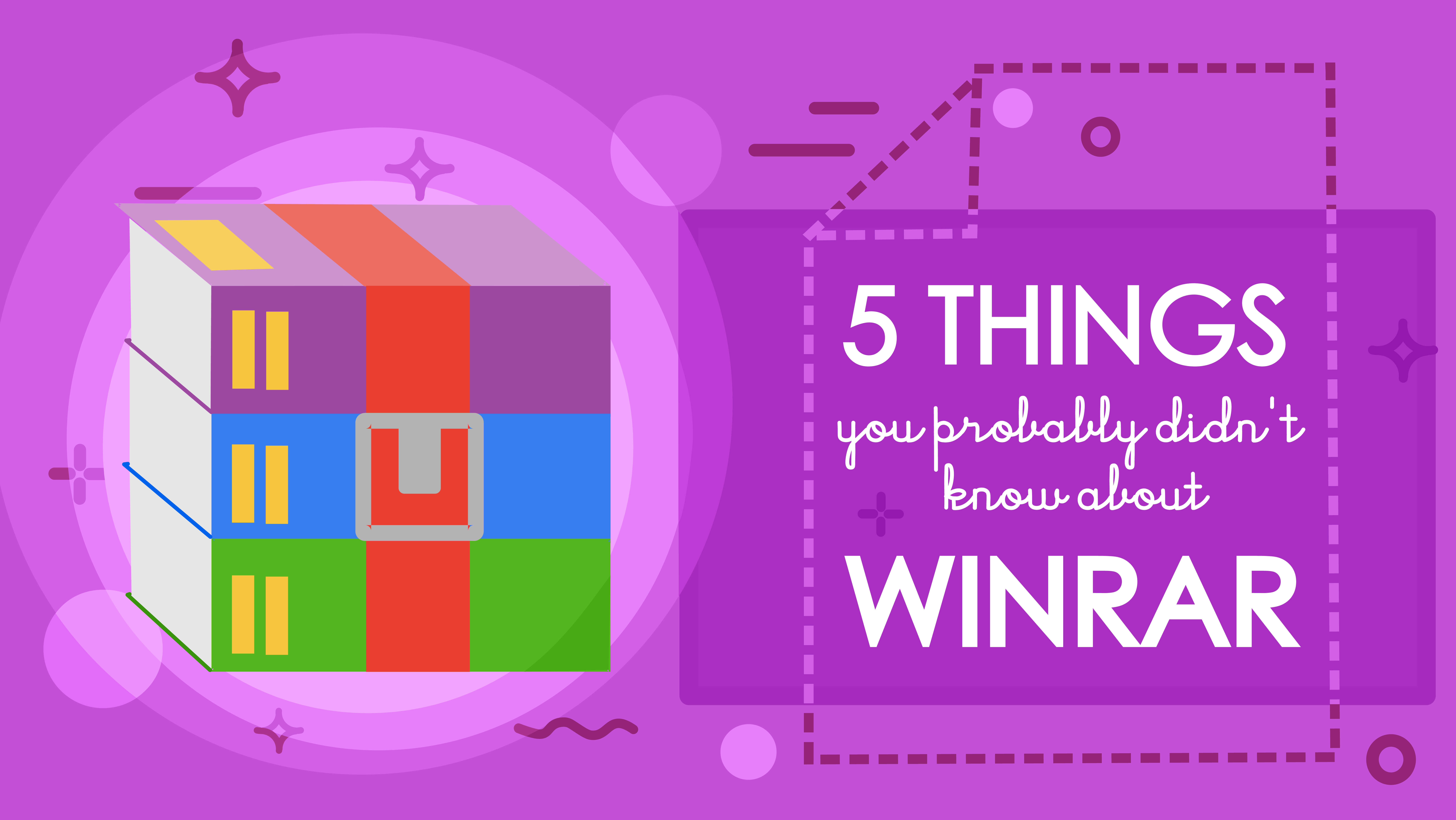 5 things you didn't know about WinRAR
