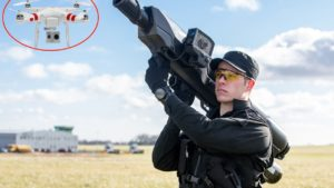 This gun downs pesky drones