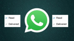 How to stop the two blue ticks showing when you read a message!