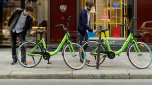 Bike bashing drives cycle sharing company from France