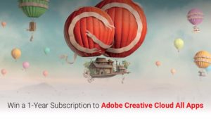 Adobe Contest: Win Adobe Photoshop and more…