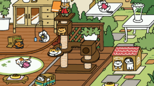 Collect cats with the free Neko Atsume app
