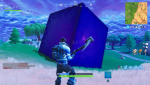 Fortnite: Clues about the Cube