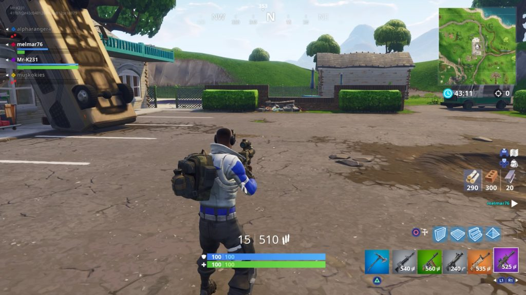 Fortnite Thermal Scoped Assault Rifle