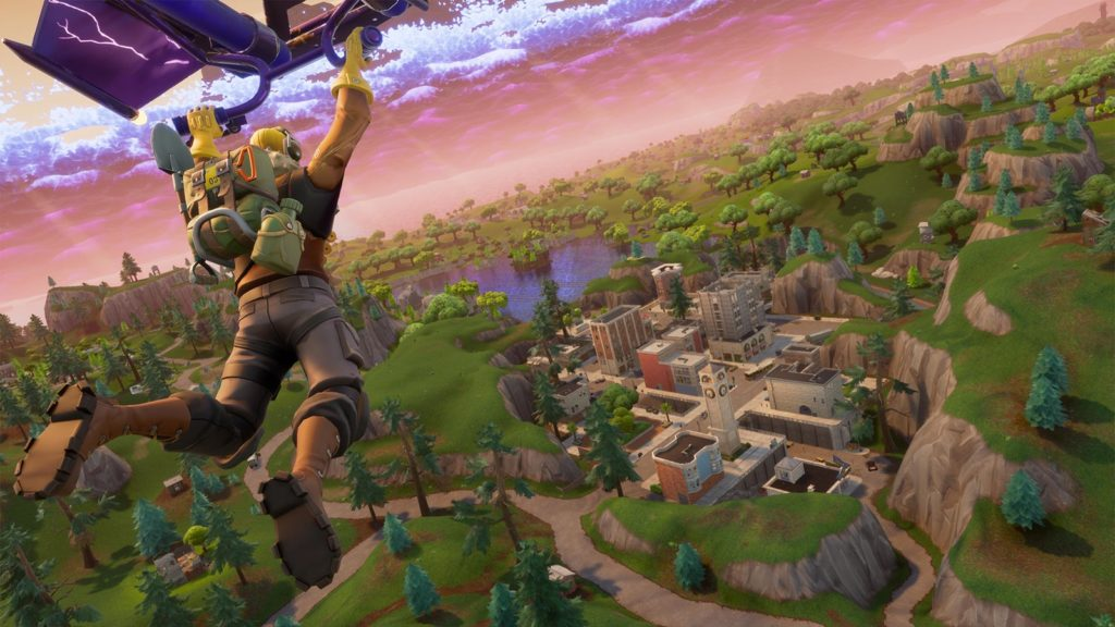 A good game of Fortnite begins with where you land