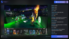 Steam.tv is Valve's answer to Twitch