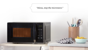 A closer look at Amazon's Alexa microwave