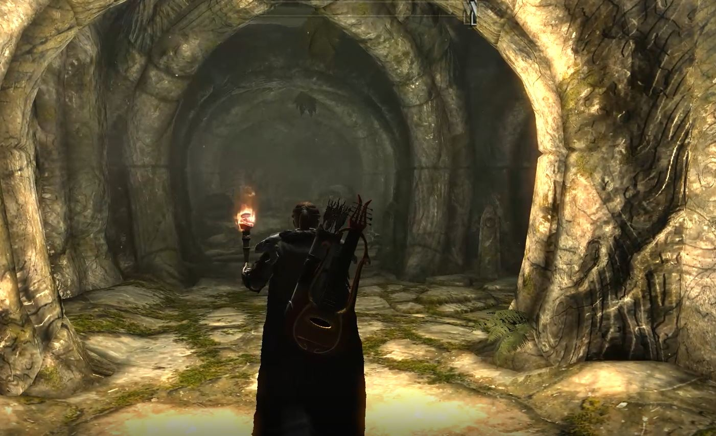 Explore Skyrim through the eyes of a wandering bard
