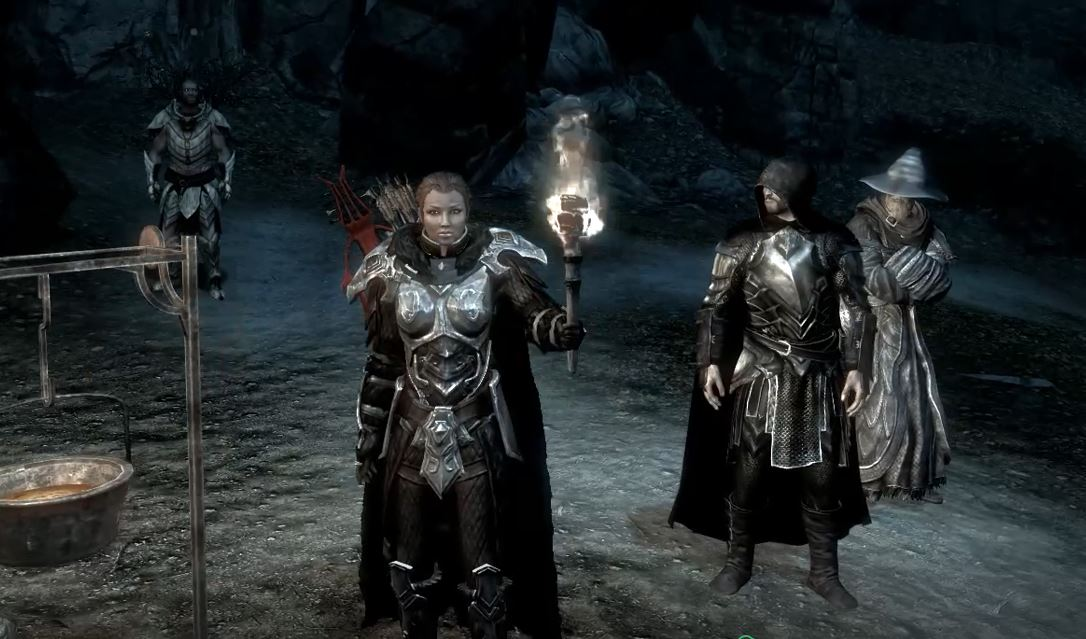 Lead a fellowship of your own through Skyrim