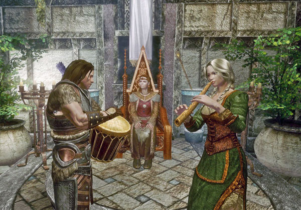 Perform for Jarls and Nobility