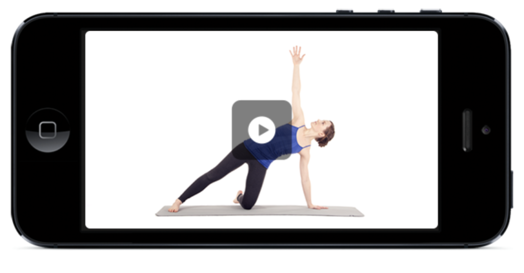 Yoga Studio on iPhone