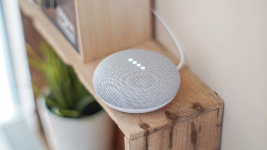 Google Assistant home device