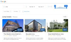 Google Hotels available on both mobile and desktop
