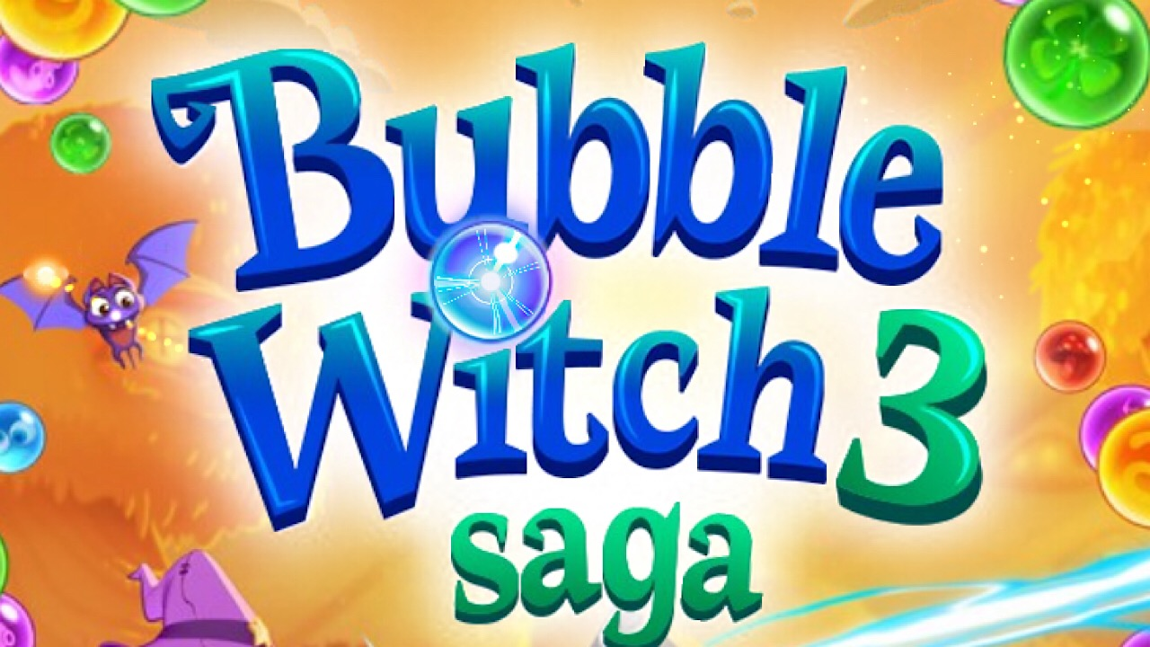 bubble witch 3 saga logo