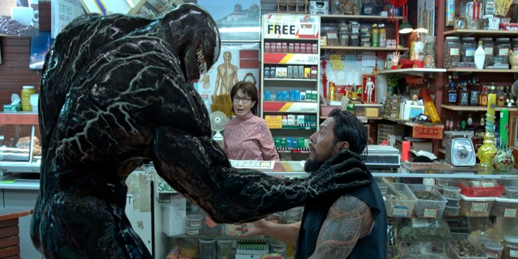Venom didn't get exact change.