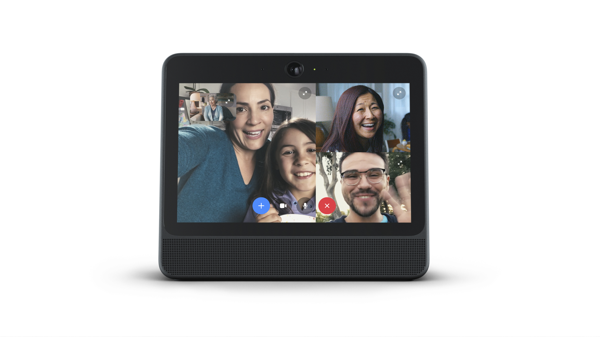 how to connect camera to facebook video call
