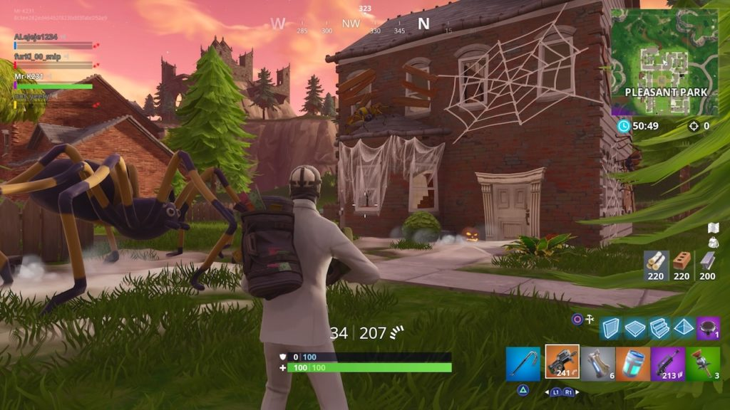 fortnite season 6 spooky hosuse