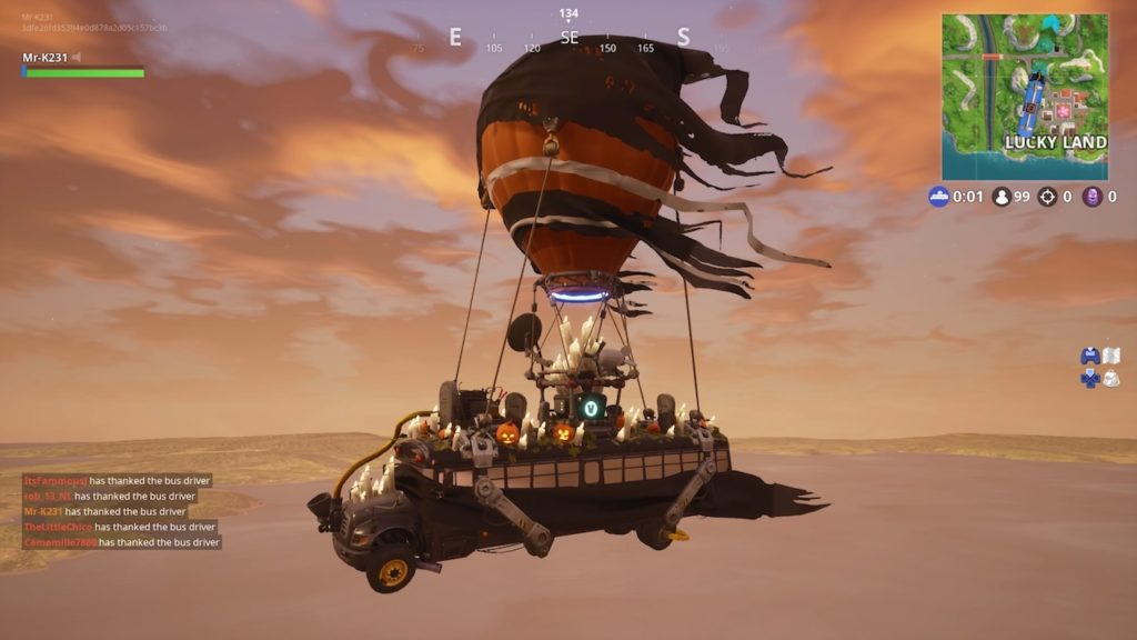 fortnite fortnitemares battle bus