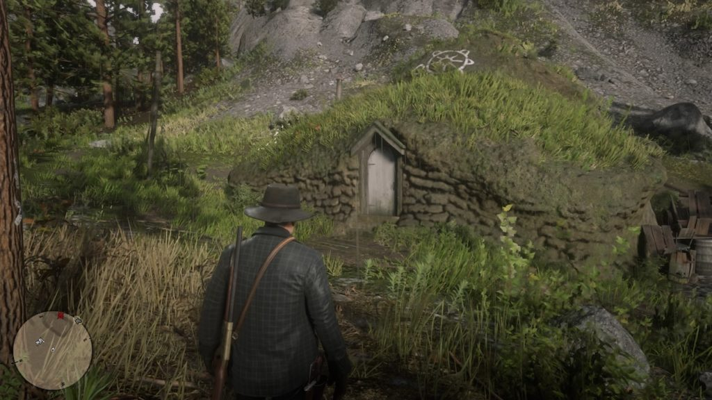 red dead redemption 2 hobbit house