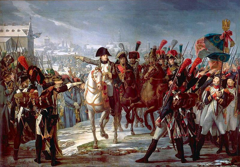 Napoleon led the French army to greatness in Europe ... not so much in Egypt