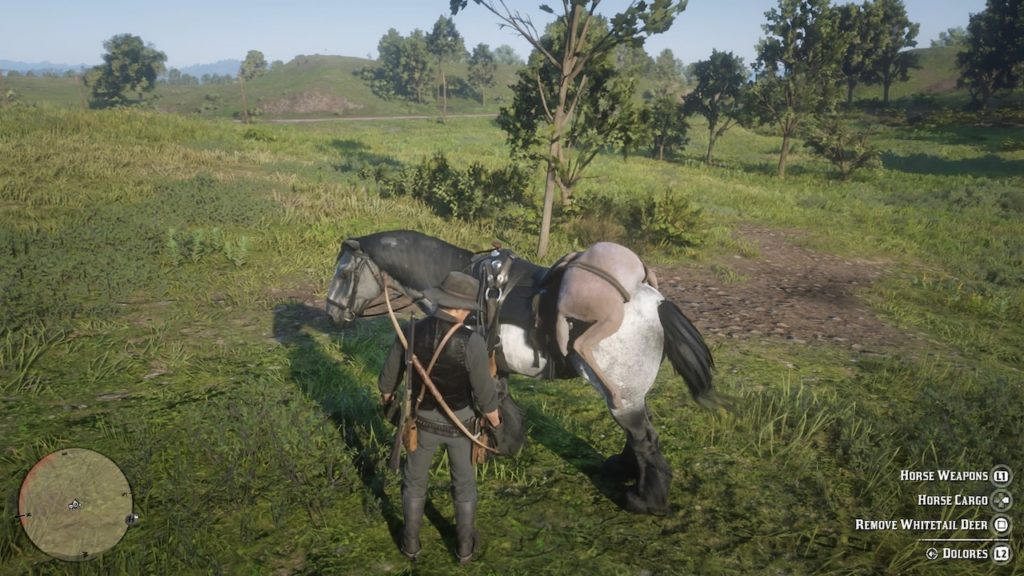 red dead redemption 2 horse gear