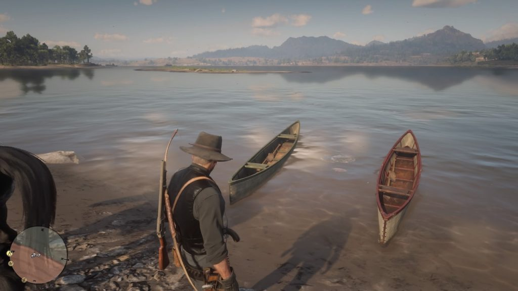 red dead redemption 2 boats
