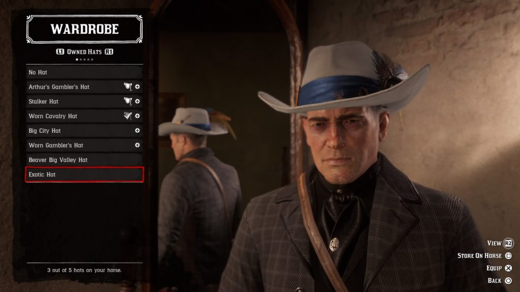 red dead redemption 2 exotic hat