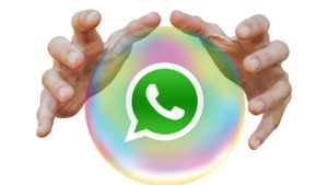 iOS WhatsApp users can now see into the future