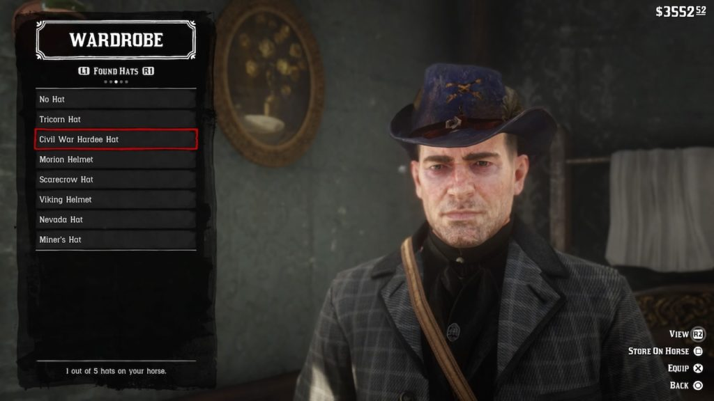 red dead redemption 2 hardee hat
