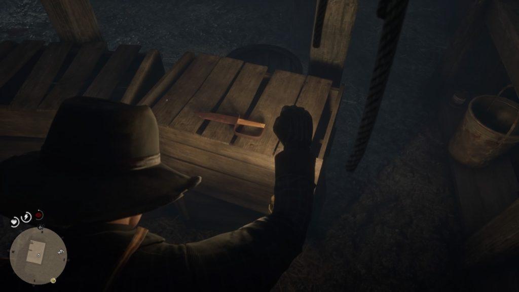 red dead redemption 2 fort basement