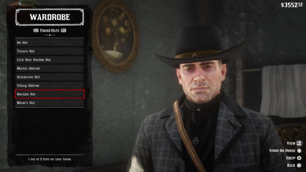 red dead redemption 2 nevada hat