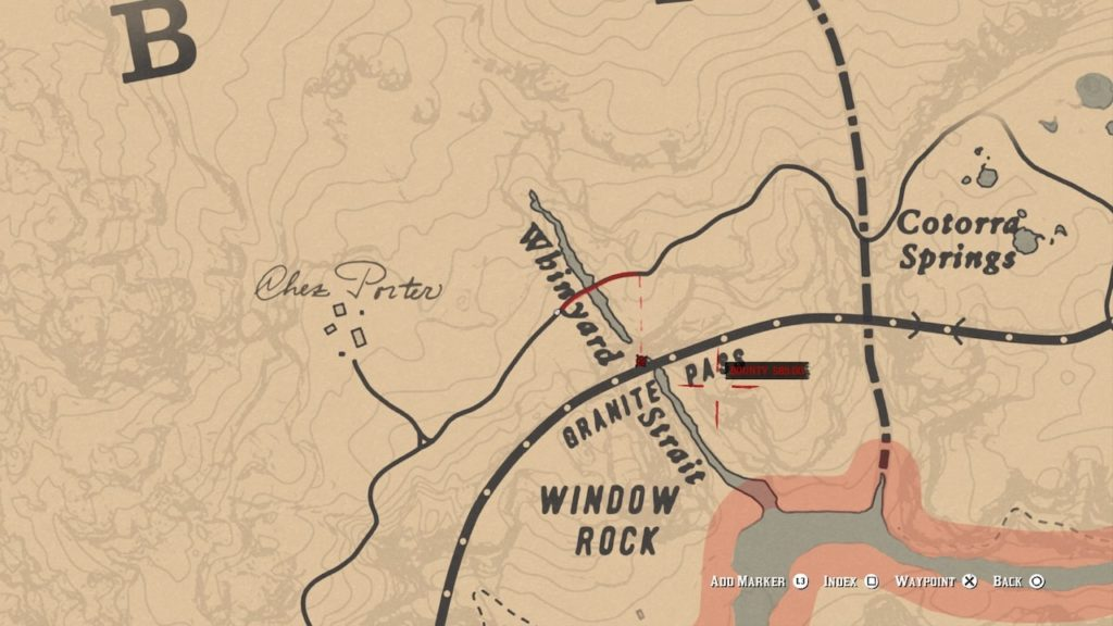 red dead redemption 2 nevada hat map