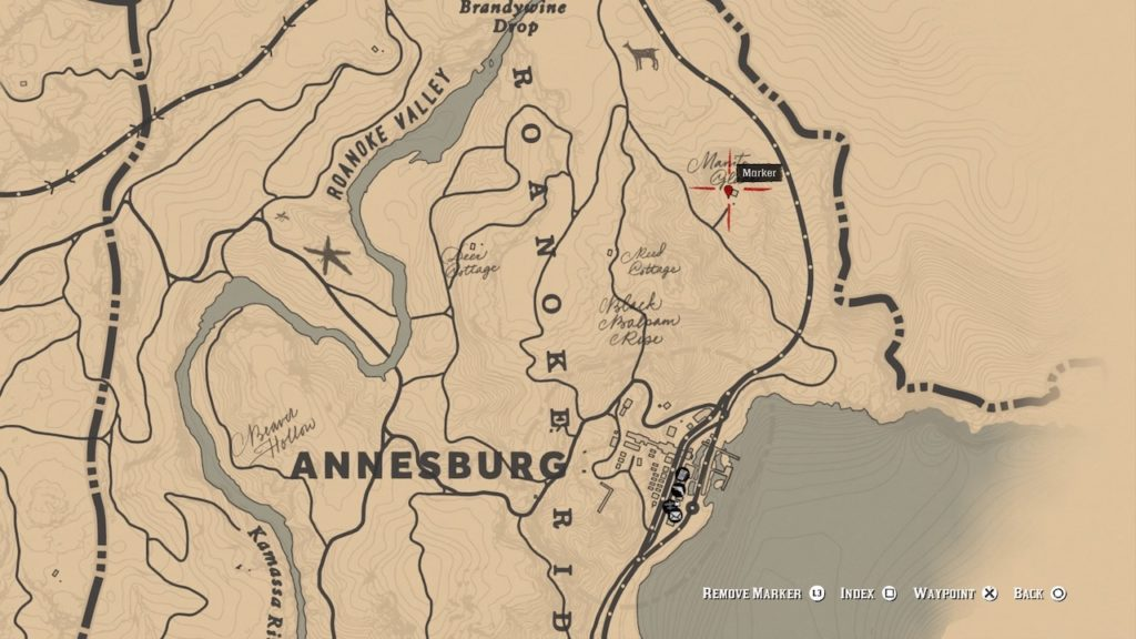 red dead 2 rare shotgun location