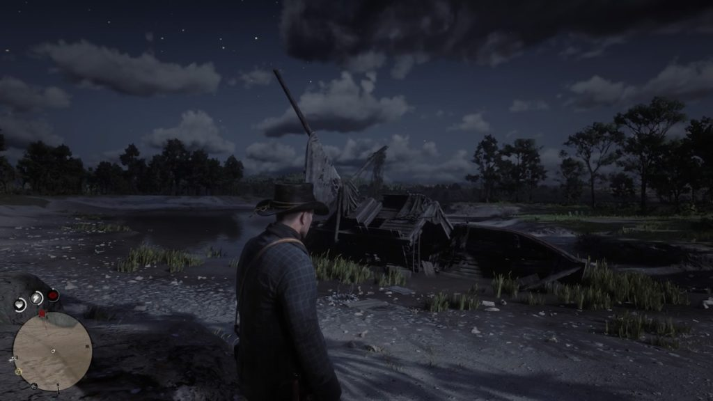 red dead redemption 2 shipwreck