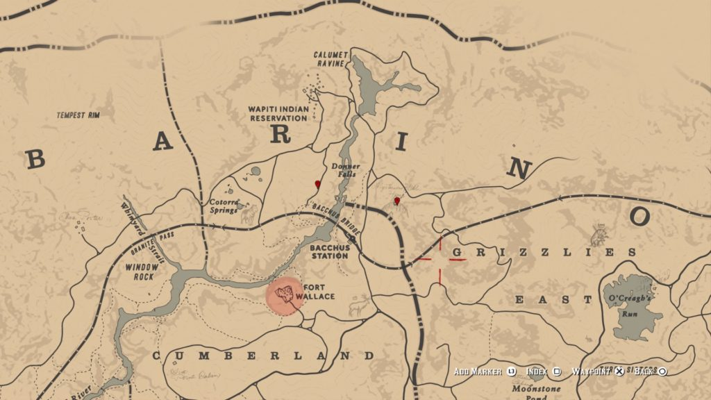 red dead redemption 2 ambarino grave map