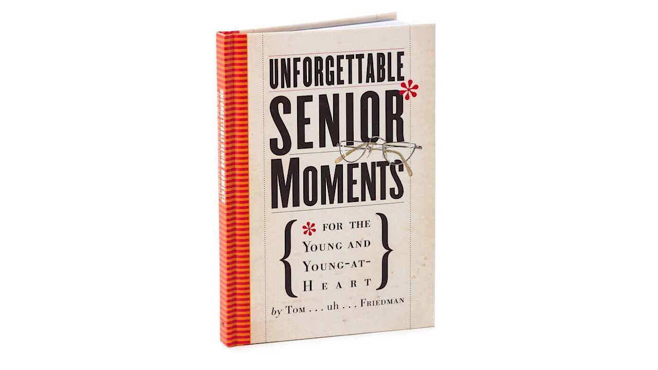 senior moments book