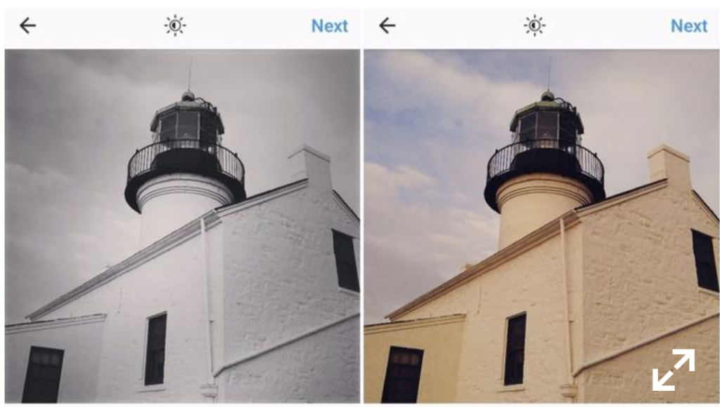 filters preferred by depressed instagram users