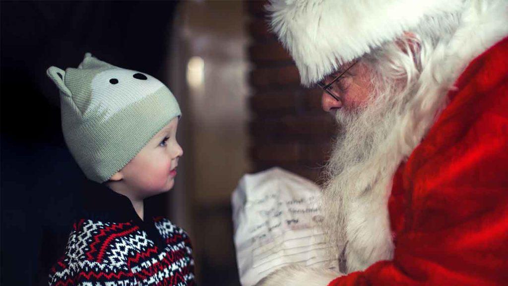 google assistant can talk to santa
