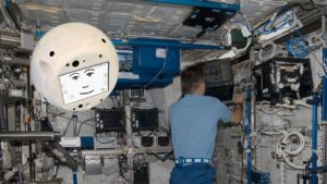 Robot revolts on the International Space Station