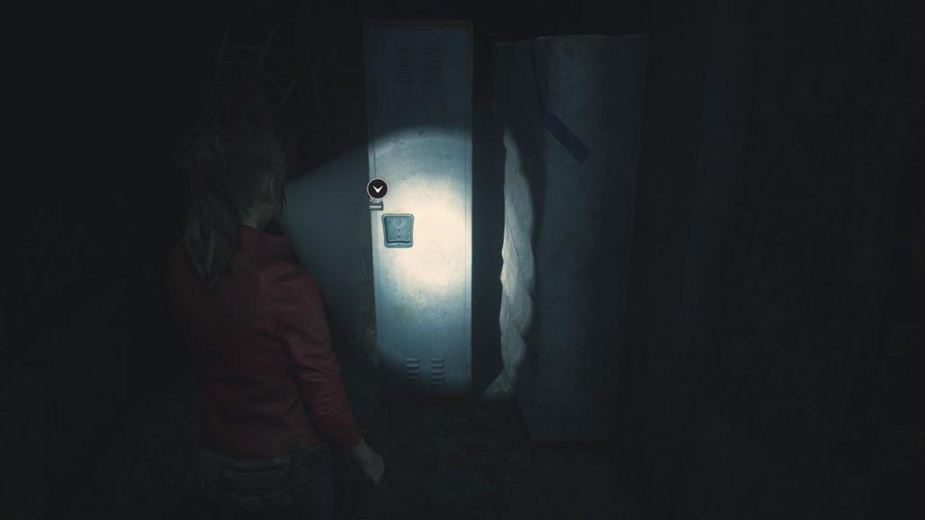 resident evil 2 3f locker