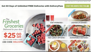 FreshDirect home delivery