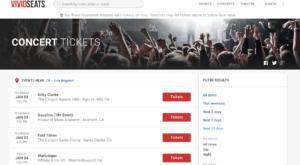 Vivid Seats tickets