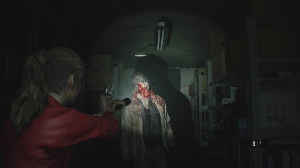 resident evil 2 claire zombie survival guide
