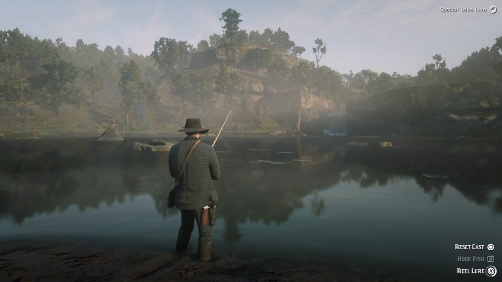 red dead redemption 2 fishing guide fishing hol