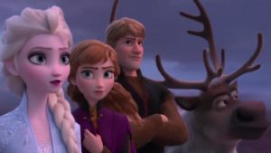 Elsa is back in a dark, action-packed trailer for 'Frozen 2'