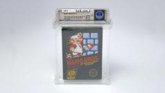 Rare Super Mario Bros. game sells for $100,150