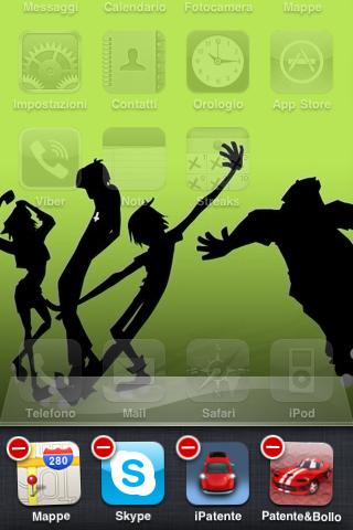 Chiudere app di iPhone in background